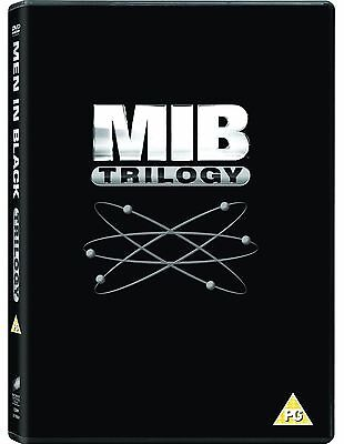 MEN IN BLACK Trilogy Series 1-3 Collection Part 1 2 3 Will Smith BoxSet New DVD