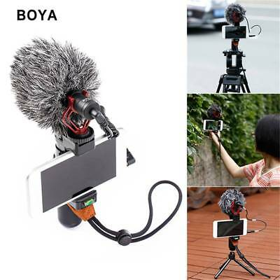 BOYA BY-MM1 Cardiod Shotgun Video Microphone Mic Video for iPhone Camera UK