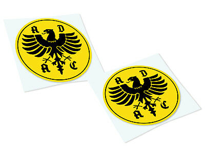 ADAC Classic Retro Car Motorcycle Decals Stickers
