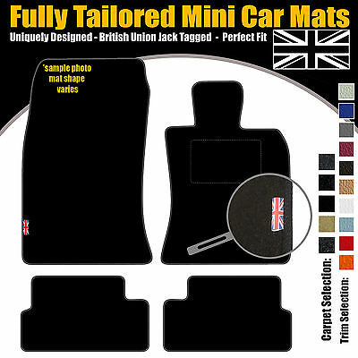 Bmw Mini Coupe Car Mats 2011 Fully Tailored Includes Union Jack