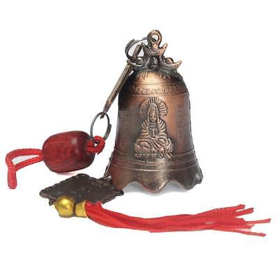 China Feng Shui Excellent Tibetan Buddhism Brass Bell Buddhist Goddess Temple