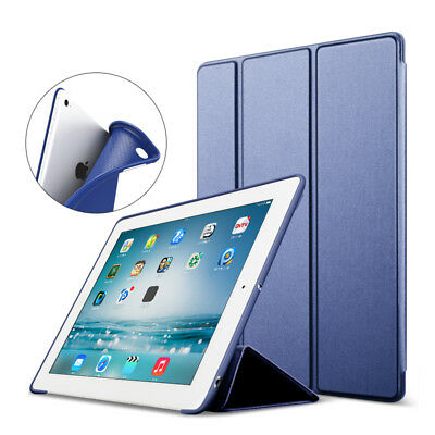 Slim Silicone Magnetic Smart Cover Case For Apple iPad 6th Generation 2018 9.7""