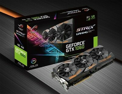 ASUS Geforce GTX 1060 STRIX 6GB GAMING 889349469361