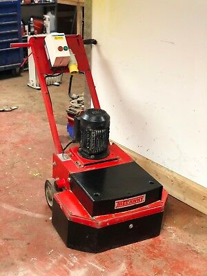 HTC 270 Greyline Concrete Grinder Scabbler 110v 32amp Serviced Ready Work