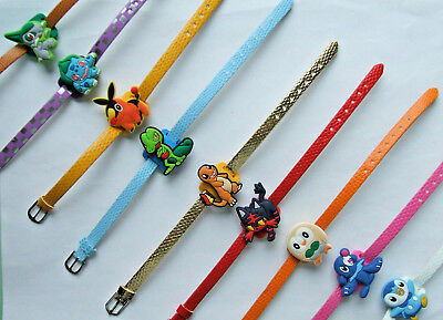 SHOE CHARM BRACELETS (J6) - inspired by CUTE COMPUTER GAME CARTOON CHARACTERS