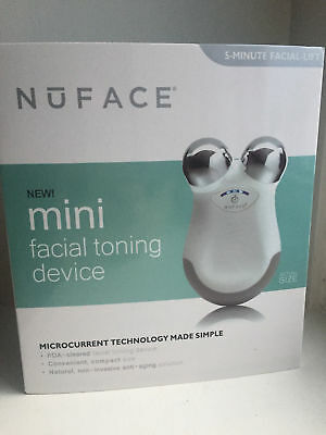 Brand-new NUFACE Facial Toning Mini Skin Care Kit in White,Nuface Gel,UK STOCK
