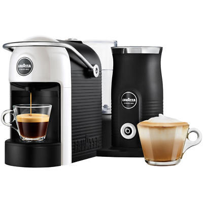 Lavazza Modo Mio 18000230 White Jolie Plus Coffee Machine & Milk Frother