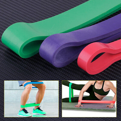 HEAVY DUTY Latex Resistance Band Loop Power Training GYM Fitness Exercise Yoga