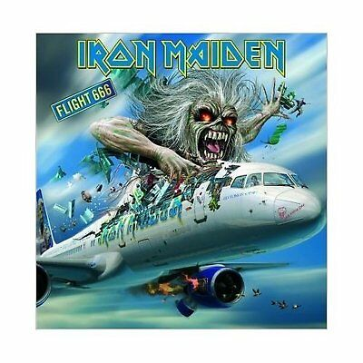 Iron Maiden Flight 666 Greeting Birthday Card Any Occasion Official