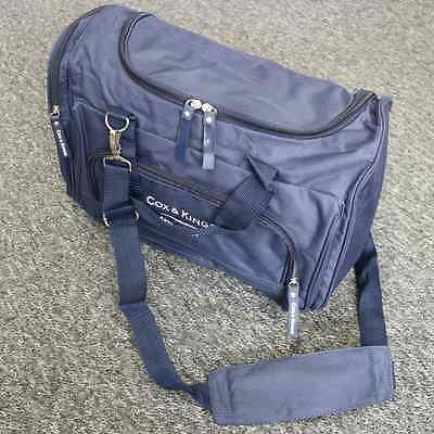 Cox & Kings Navy Shoulder Bag Gym Travel Hand Luggage Cabin Size Outdoor Sports
