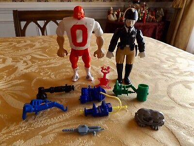Vintage Lot of original Ghostbusters Figures and Accessories