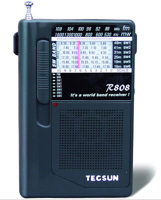 Tecsun R-808 portable multi-band radio