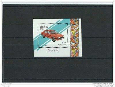 Lot : 042015/1132A - Laos 1987 - Yt Bf N° 95 Neuf Sans Charniere ** (Mnh) Gomme