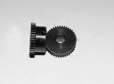 0.5Mod 40T Spur Gear 45# Steel Motor Gear Bore 5/6/6.35mm With Grub Screw x1PCS