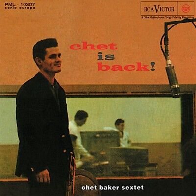 Chet Baker - Chet Is Back+++Vinyl 180g++++Speakers Corner RCA PML-10307+NEU++OVP