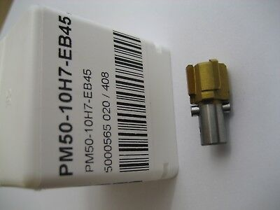 10mm H7 CARBIDE TIPPED REAMER PM50-10H7-EB45 CP20 MADE BY SECO   #R28