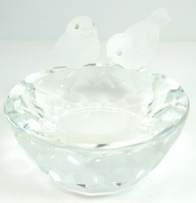 Swarovski Crystal Bird Bath A 7460 NR 108 000 With Box - B230