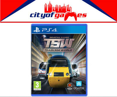Train Sim World PS4 Brand New & Sealed In Stock