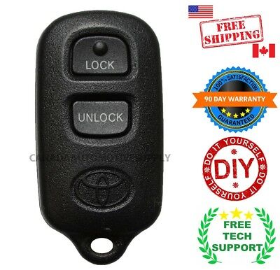 1 New Replacement Keyless Entry Remote Control Fob for TOYOTA Camry GQ43VT14T