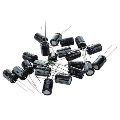 20 x 1000uF 10V 105C Radial Electrolytic Capacitor 8x11mm A7J8 RP