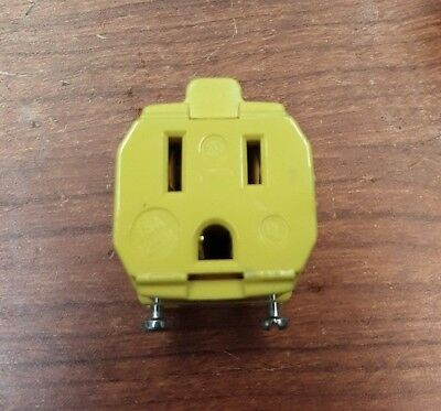 Hubbell HBL5969VY Connector 15A 125V