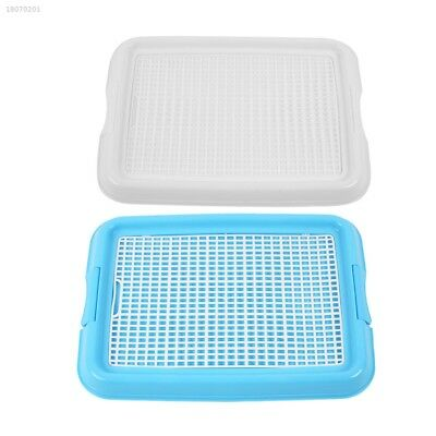 Pet Dog Puppy Indoor Restroom Training Potty Pee Toilet Fence Tray Mat 97815FF