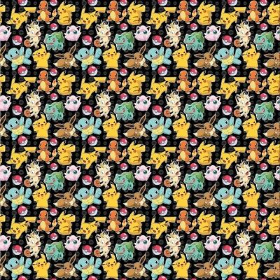 pokemon gift wrap 4 meter wrapping paper roll xmas - £6.99 | picclick uk