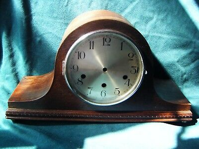Antique Clock Case Empty Westminster Chimes - with gongs