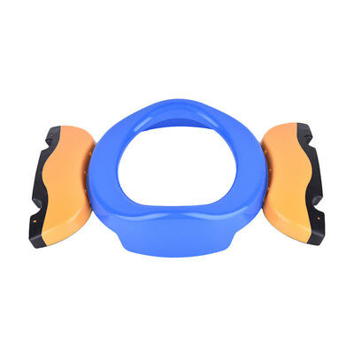 Baby Kids Foldable Portable Travel Potty PP Plastic Training Chair Toilet Seat