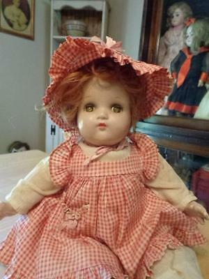 Vntg Composition Cloth Mad Alexander Baby Mcguffey Doll Repair
