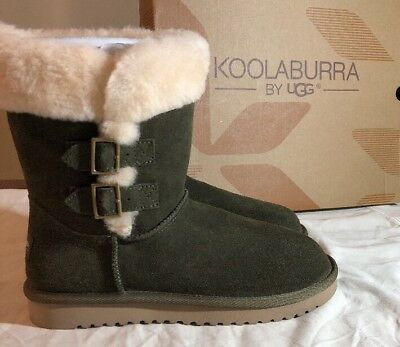 738d071fb20 WOMENS UGG BAILEY Bow II Velvet Ribbon Chestnut 1092973 Size 5-7 100 ...