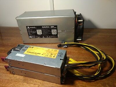 2x Avalon 6 Miner With Power Supplies & Controller
