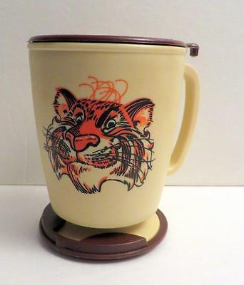 Whirley Travel Mugs Coffee Exxon Esso Tiger Mug Cup W Lid Plastic