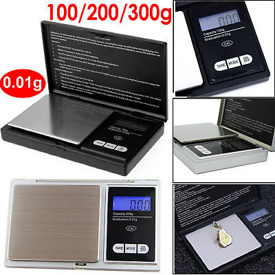 1000g Mini Digital Waage 0.01g Feinwaage Taschenwaage Goldwaage Juwelierwaage DE