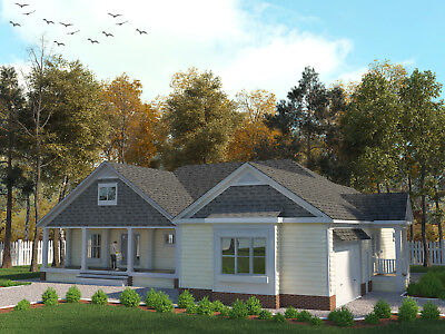 Low Country Craftsman Style House Plans