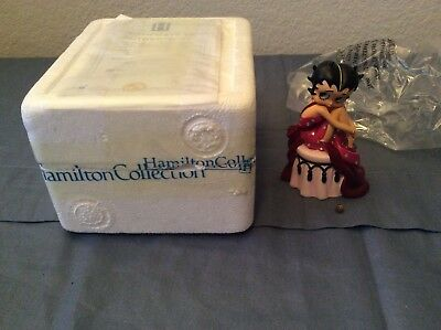Betty Boop Hope is Always in Style # 0287 Hamilton Collection Bell Figurine NIB