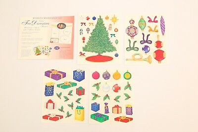 Creative Memories Holiday Tree Decoration Christmas Stickers BNIP