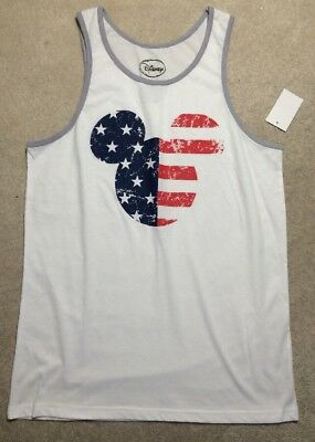 ca3542a52d1fe NWT MENS DISNEY Mickey Mouse Expressions Tank Top SIZE 2XL -  3.99 ...