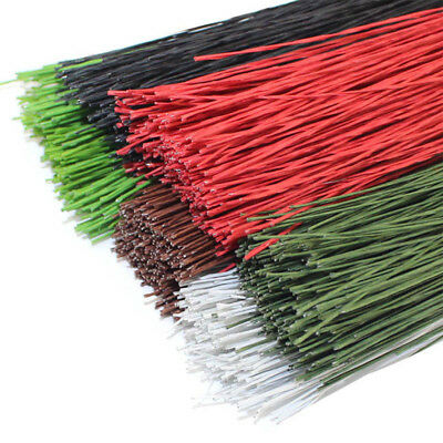 50PCS #18 Paper Covered Wire 1.2mm/0.047Inch Diameter 40cm Long Iron