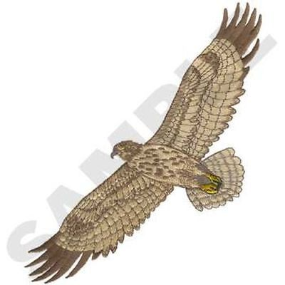 """Hawk Embroidered Patch 6.7"""" x  9.7"""""""