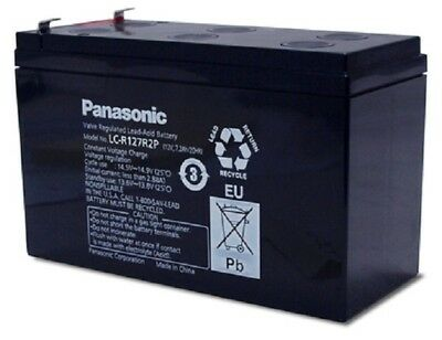 NEW Panasonic Telstra NBN Phone Line Broadband 12V Sealed Lead Acid Battery