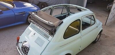 fiat 500d trasformabile suicide doors CONVERTIBLE 1964 JUST FULLY RESTORED PX