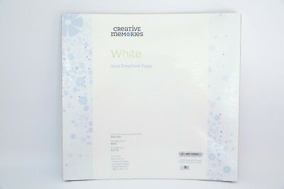 Creative Memories True 12x12 Refill Pages White BNIP