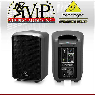 Behringer MPA30BT Portable Bluetooth PA Speaker System w/Built-In 2-CH Mixer