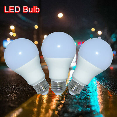 E27 LED 9W 10W 11W 15W Energy Saving Light Globe Bulb A60 Lamp 60W 110V 220V