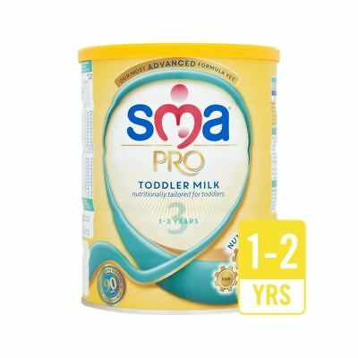 SMA Pro Toddler Milk 1-3yr 800g - Pack of 6