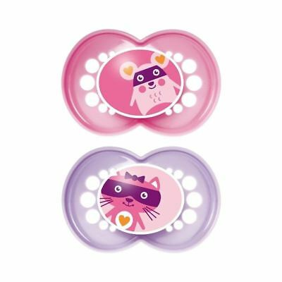 MAM Original 12+ Months Soother, Pink 2 per pack - Pack of 6