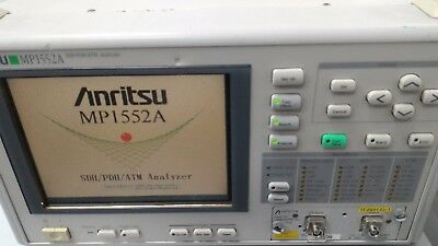 ANRITSU MP1552A  PDH/SDH/ATM  Analyzer Mainframe
