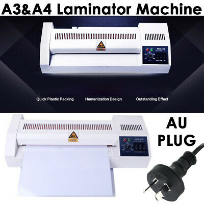 2 in 1 A3 A4 Document Laminator Thermal Hot Laminating Machine for Home Office