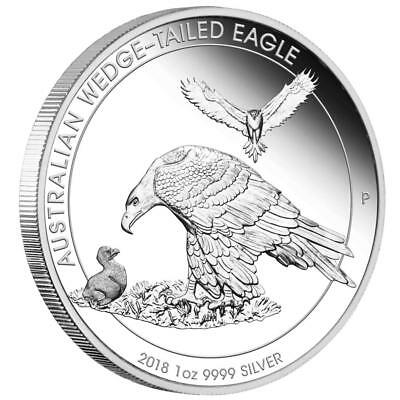 Australien 1 Dollar 2018 - Wedge Tailed Eagle - Kollektion  1 Oz Silber PP